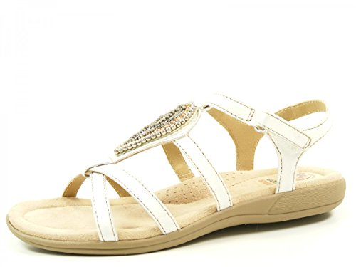 Earth Spirit 39042-16 Houston Sandales femme Weiß