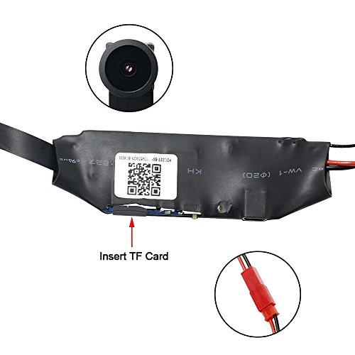 WIFI Mini Spy Cam Telecamera Nascosta Microcamere Spia Hidden Camera TANGMI 1080P HD Wireless Motion Detection DIY Videocamera 7/24 Ore di Lavoro Android iPhone IOS 140°Angolo di Vista Ampio - 3