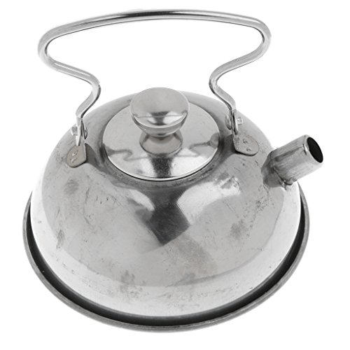 Homyl Kids Stainless Steel Kitchen Cookware - Stovetop Teakettle Teapot - Pretend Play Chef Cooking