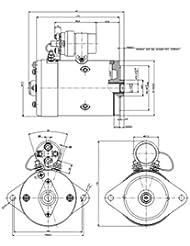 Moteur DELCO-REMY 19024666 (DELCO-REMY : 19024664)