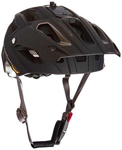 Cratoni Fahrradhelm AllTrack, Black-Anthracite Rubber, 54-58 cm, 110501A1
