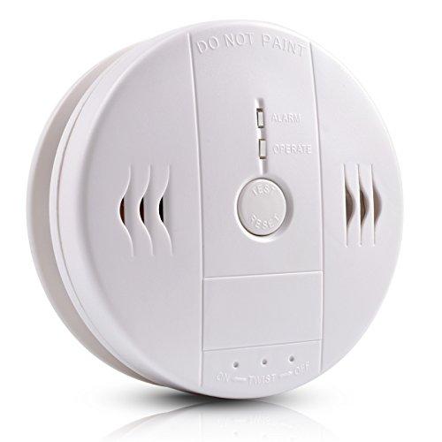 Détecteur d'alarme de fumée et de monoxyde de carbone détecteur de pompage à incendie par batterie Alarme combinée avec capteur photoélectrique Apriller