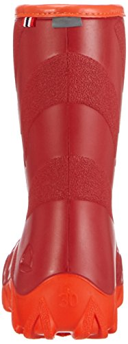 Viking ULTRA 20 Unisex Kinder Warm gefütterte Gummistiefel Rot (Red/Orange 1031)