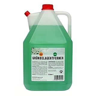 5 L. Grünbelagentferner Moosentferner Biozid, auch gegen Stockflecken Innen