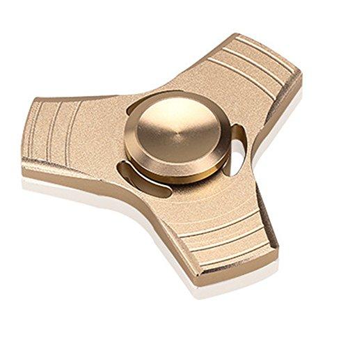 GGG EDC Fidget Tri Hand Spinner Aluminium Durable Stress Reducer