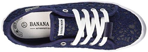 Banana Moon Meadham, Baskets mode femme Bleu (Sho06)