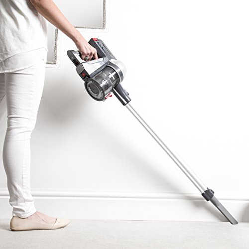Hoover FD22G Freedom Lithium 2-in-1 Cordless Stick Vacuum Cleaner, 0.7 Litre, 22 V, Silver/Grey
