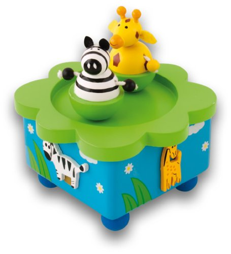 ULISES INFANCIA COLORES - 3877 - JUGUETE PRIMERA EDAD - JUNGLE MUSIC BOX