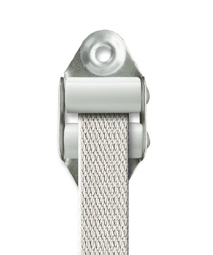 Schellenberg 51002 Guía para cinta con juntas persiana,MAXI STANDARD, color blanco