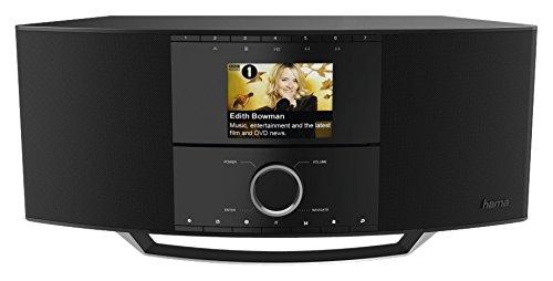 Hama dir3500mcbt Internetradio schwarz–(3,5mm, AAA, Internet, 60–18000Hz, TFT, DAB, DAB +, FM)