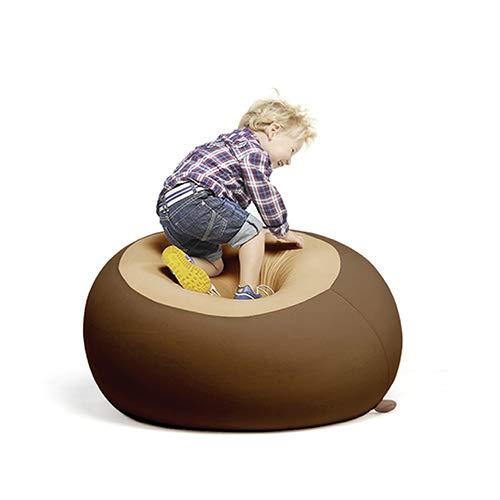 Terapy - STANLEY Relax Indoor Sitzsack - Sitzkissen, 70x70x60cm in braun / sand