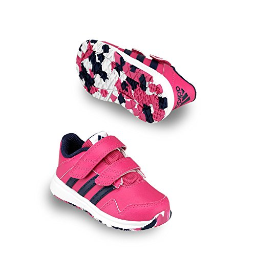 adidas Snice 4 Cf I, Chaussures Mixte Bébé, Multicolore Rose / Violet / Blanc (Eqtros / Mornat / Ftwbla)