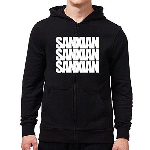 Eddany Sanxian three words Kapuzenjacke