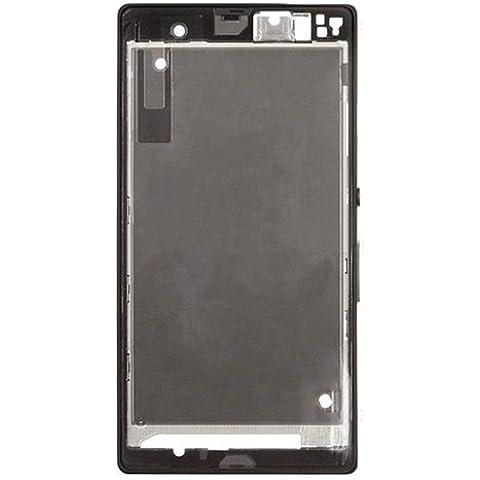 Piezas de repuesto de teléfonos móviles, iPartsBuy frontal de la carcasa del LCD de la placa del bisel del capítulo para Sony Xperia Z / L36h / C6602 / C6603