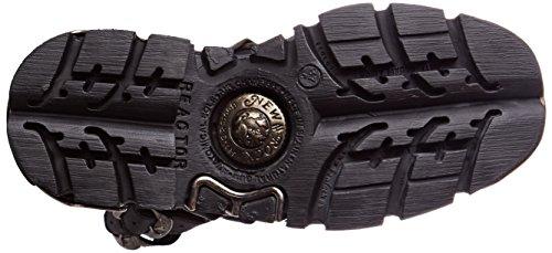 New Rock M-373x-s28, Stivali da Motociclista Unisex – Adulto Nero (Black)
