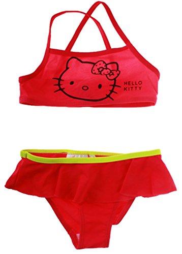 Hello kitty -  costume due pezzi - ragazza rosa rosascuro