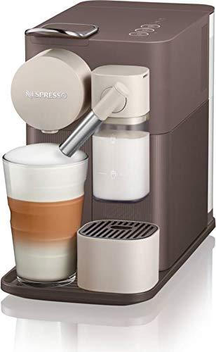 Macchina Caffè con Capsule Nespresso + Cappuccinatore EN 500.BW Lattissima One Marrone