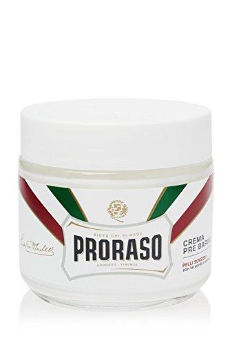 Proraso White Pre-Shave Cream Anti-Irritation, 1er Pack (1 x 100 ml)