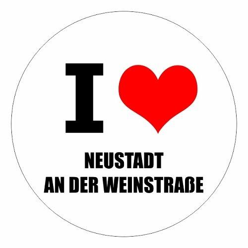 I love Neustadt an der Weinstraße in zwei Größen erhältlich Aufkleber mehrfarbig JDM Decal...