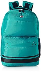 Tommy Hilfiger 24.58 Ltrs Green Laptop Backpack (TH/BIKOL06STO)