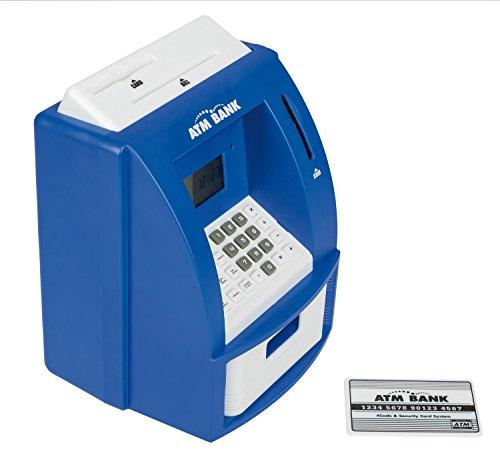 Idena 5002- Digitale Spardose Geldautomat mit Sound