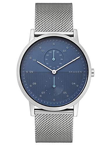 Skagen orologio analogico quarzo uomo con cinturino in acciaio inox skw6500
