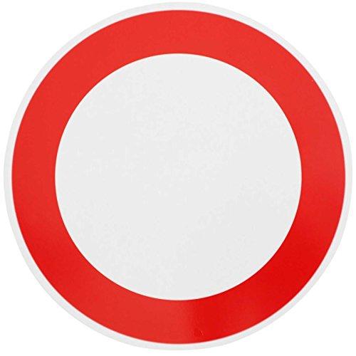 ORIGINAL Verkehrszeichen Nr. 250 VERBOT FÜR FAHRZEUGE ALLER ART 420 mm DN Verbotsschild Verkehrsschild RAL-Gütezeichen Schild Verkehrsschilder Schilder Warnschild Straßenschild Straßenzeichen Warnzeichen Strassenschilder Hinweisschild nach StVO