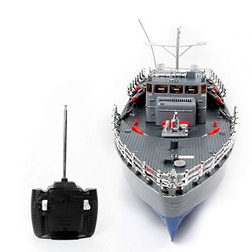 AMITAS 2.4GHz RC Boot Ferngesteuertes Mini Kriegsschiff Torpedoboot Ferngesteuertes Ferngesteuert Spielzeug Boot für Kinder