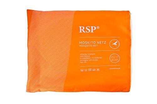 RSP Moskitonetz Box XXL extra groß, rechteckig mit Eingang und ohne Eingang, Mückenschutz, Insektenschutz (Weiß mit Eingang)