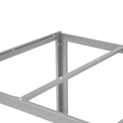 Ultranatura Aluminium Glastisch