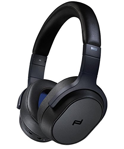 KEF PORSCHE DESIGN / SPACE ONE WIRELESS - Kopfhörer Bluetooth ANC, Schwarz