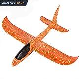 Aeromodello aliante per bambini, 35 cm (arancione)
