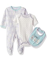 Rene Rofe Baby Girls' Take Me Home 3 Piece Set
