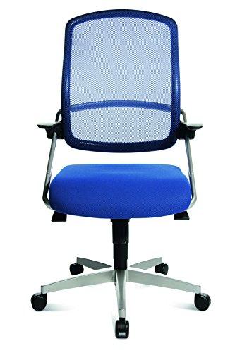 Design Bürodrehstuhl blau - 3