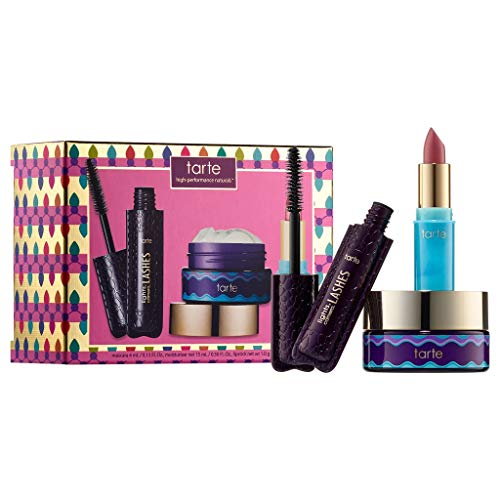 Tarte Girl Boss Goodies Skin & Makeup Mini Set (Tarte Make-up-set)