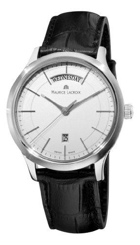 maurice-lacroix-mens-lc1007-ss001130-les-classiques-quartz-silver-day-date-dial-watch