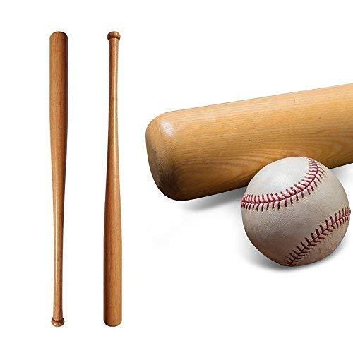 Oramics Baseballschläger aus Holz - 86 cm, ca. 34 Zoll - Ideal zum Schutz und zur Selbstverteidigung - Stabil verarbeiteter Baseball-Schläger aus robustem Holz
