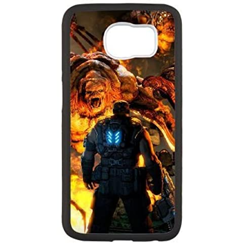 Samsung Galaxy S6 Phone Case White Gears Of War AC8460223 - Final Drive Gear