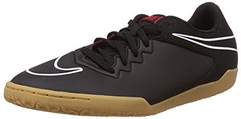 Nike Herren Hypervenomx Pro IC Fußballschuhe, Schwarz / Weiß /