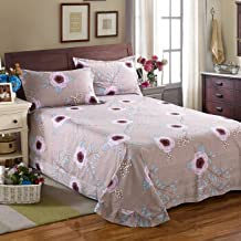 4 pieza de puro algodón bruto Molino de micro-mundo flores 1,5 -1,8 m/kit de cama 200*230 cm Juego de 4 piezas ,1.2-1.35 m cama /160*210cm de tres piezas para otoño Meinung
