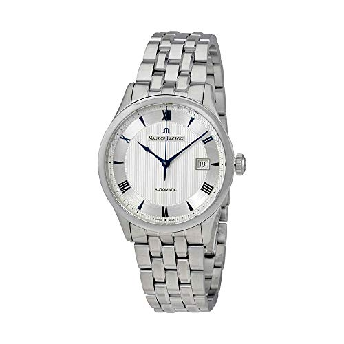 Maurice Lacroix Masterpiece Date Silver Dial Mens Watch MP6407-SS002-111