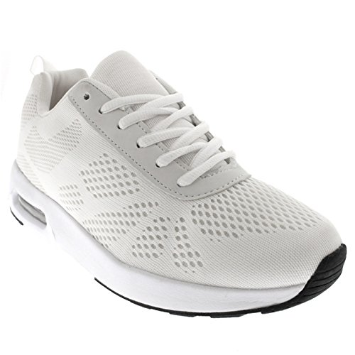 Damen Laufen Büro Konstrukteur Sports Beiläufig Schuhe Gehen Ausbilder Weiß/Weiß/Weiß