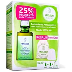 Pack Weleda Aceite Abedul 2 unidades + Celulicup