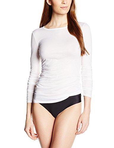 Hanro Damen Unterhemd Ultralight Weiß (White 0101)