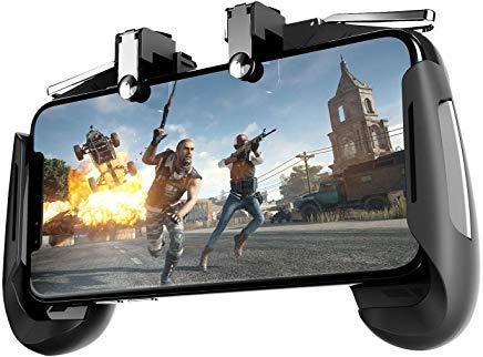 Newseego Mobile Game-Controller, [Upgrade-Version] Sensitive Shoot Ziele, mehrere Farbkombinationen, Gaming-Griff mit Gaming-Trigger für Messer, Survival-Regeln für Android und iOS, schwarz 1 - Farbkombinationen