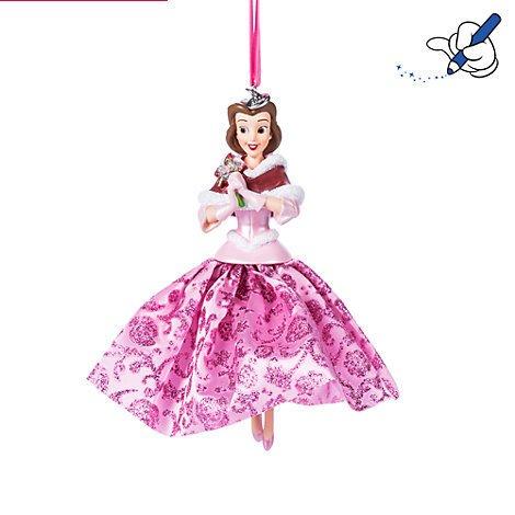 Belle, Sonnenspirale, Beauty und The Beast, offizielles Disney Weihnachten Ornament (Beauty Beast Chip Kostüm)