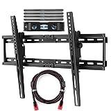 Support Mural pour Téléviseur Convenant à La Plupart des Téléviseurs à écran Plat Plasma De 82 à 165cm Inclinaison Comprend Un Câble HDMI Et Un Niveau à Bulle Intégré Suptek MT5074...