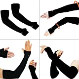 #3: Adroitz Original Slim Sun UV Protection Arm Sleeves for Men Women with Fully Stretchable Material Best for Riding and All Sports