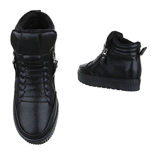 Ital-Design, Sneaker donna Nero