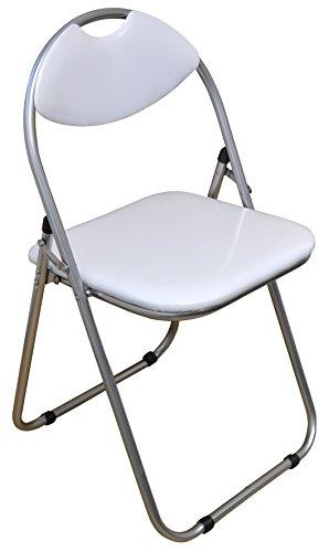 chaise de bureau blanc pliable et matelass e harbour housewares bo te de 6 meubles de bureaux. Black Bedroom Furniture Sets. Home Design Ideas